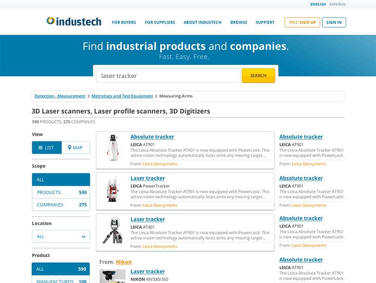 Industech website