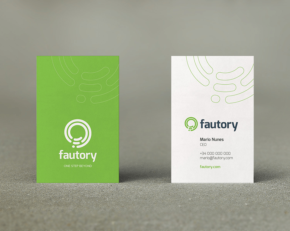 Fautory - Business card
