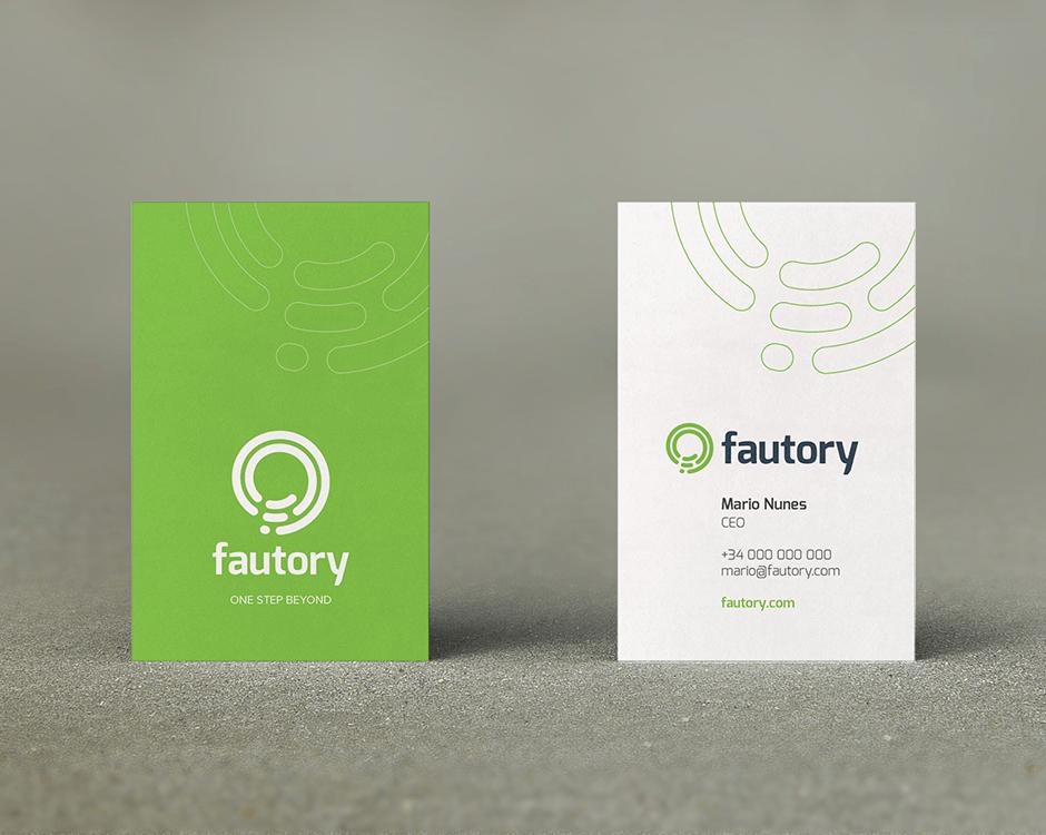 Fautory - Business card