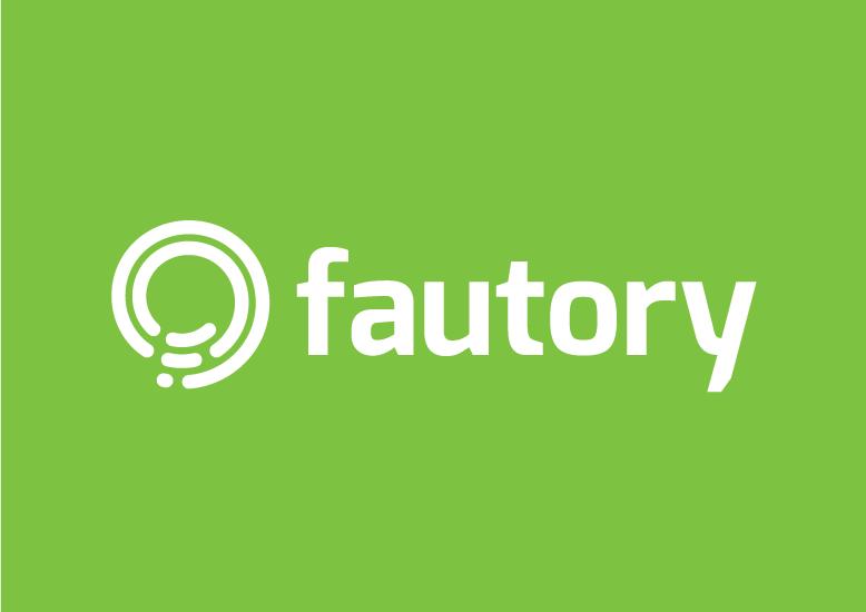 Fautory - Monochromatic Logo